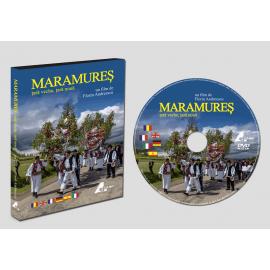 """DVD film """"Maramureș – țară veche, țară nouă"""""""