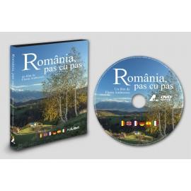 """DVD film """"România, pas cu pas"""""""